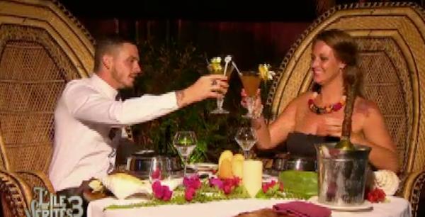 Raphaël a préparé un dîner en amoureux