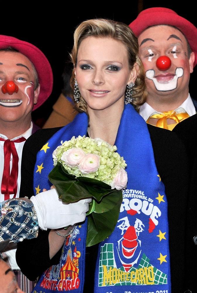Photos : Charlene Wittstock a assisté au 35e festival international du cirque, à Monte-Carlo en 2011