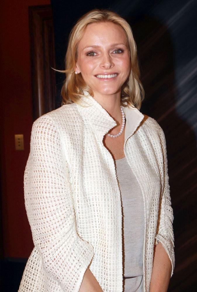 Photos : Charlene Wittstock a présidé le Ladies lunch à Monaco, en 2011