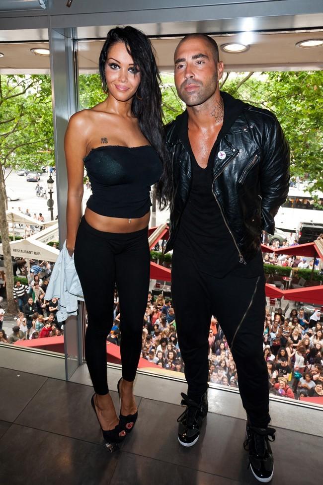 Nabilla et Sofiane le 27 juin 2012 à Paris