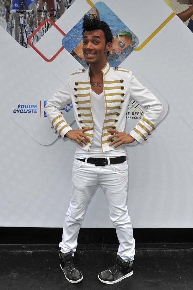 Bruno à la soirée Française des Jeux à Paris le 25 juin 2012