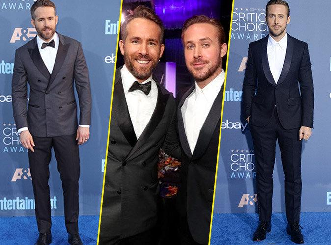 Photos : Public Man Crush : Battle de Ryan aux Critics Choice Awards 2016 !