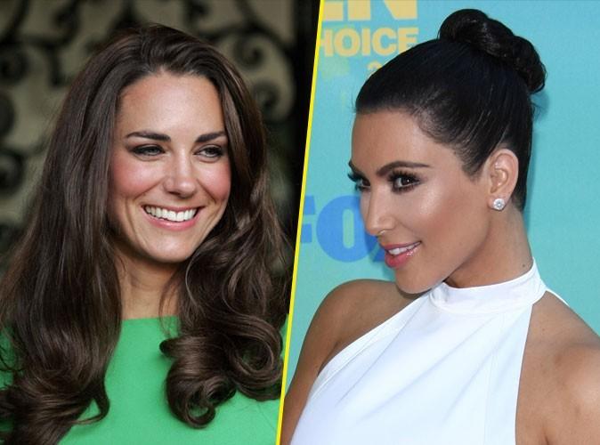 Mariage de Kim Kardashian : pourquoi elle copie Kate Middleton, en 5 raisons !