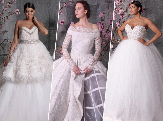 Mariage christian siriano d voile sa gamme de robes de for Robes de mariage haut de gamme