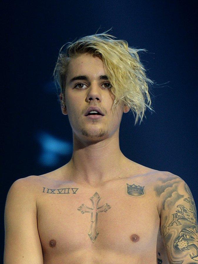 Justin Bieber en concert à Londres, décembre 2015