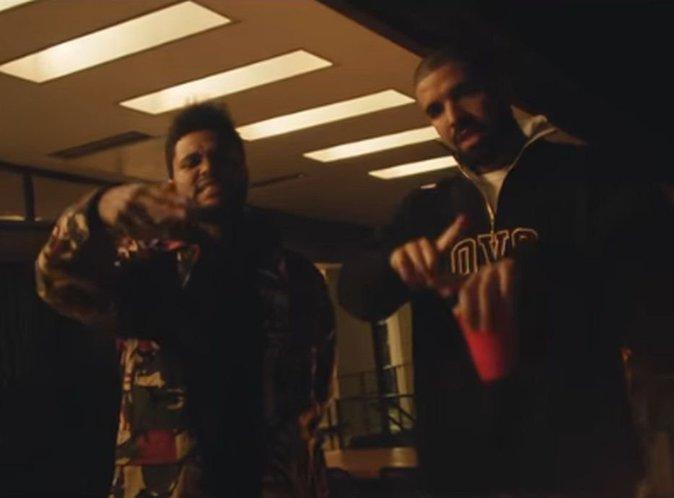 The Weeknd : Coup de pub avec Drake, French Montana et A$AP Rocky dans le clip de