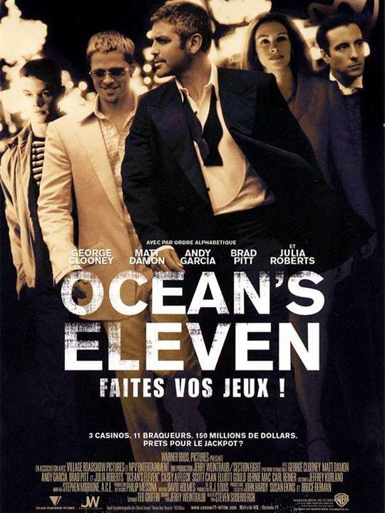Brad Pitt, Ocean's Eleven