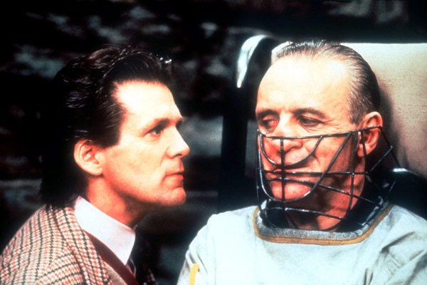 Anthony Heald et Anthony Hopkins, Le silence des agneaux