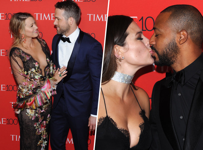Blake Lively & Ryan Reynolds vs Ashley Graham & Justin Ervin : Quel couple remporte la palme du plus mignon à la soirée Time 100 ?