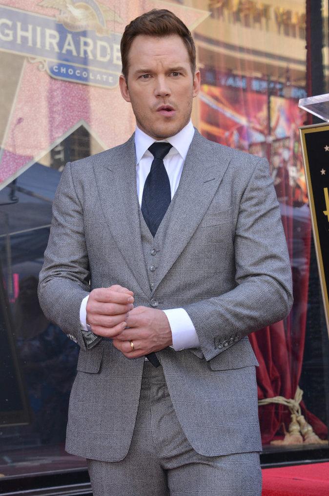 Chris Pratt : La star des Gardiens de la Galaxie a désormais son étoile à Hollywood depuis le 21/04/17