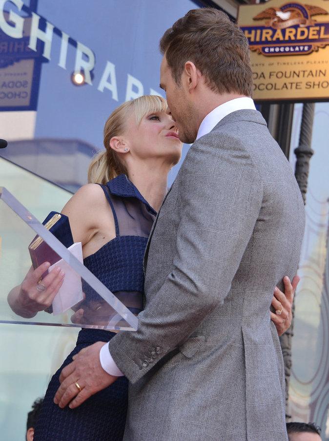 Chris Pratt : Un acteur heureux et ému après avoir reçu son étoile !