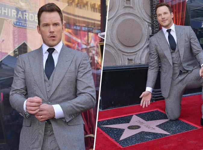 Photos : Chris Pratt : La star des Gardiens de la Galaxie a désormais son étoile à Hollywood !