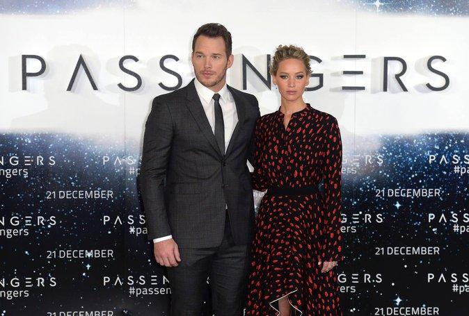 Jennifer Lawrence et Chris Patt : La magie opère pour la première de Passengers à Londres