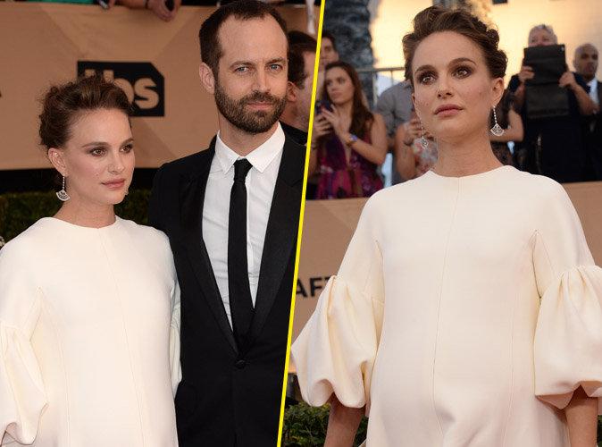 Natalie Portman : L'actrice impériale au bras de son mari Benjamin Millepied aux Screen Actors Guild Awards