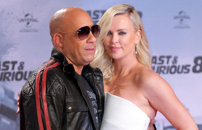 Vin Diesel taclé par Charlize Theron, il lui répond :
