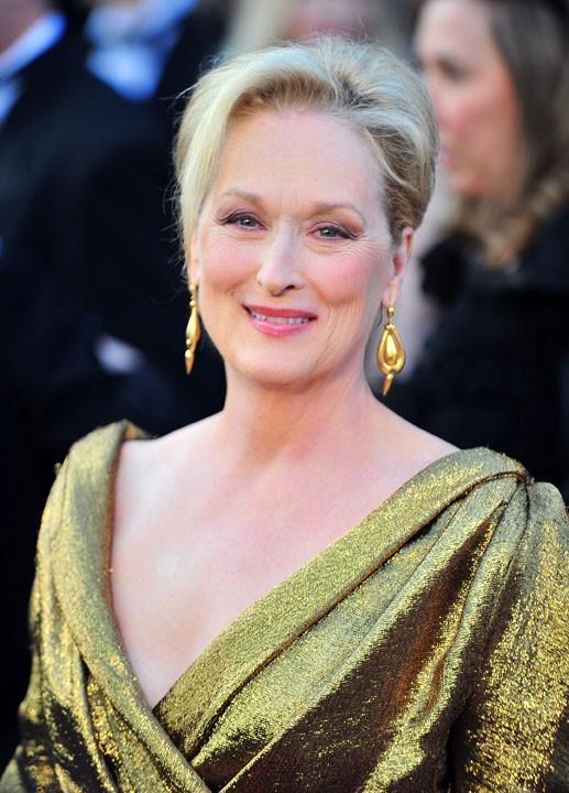 Meryl Streep : Indémodable chignon de cérémonie qu'elle porte très bien