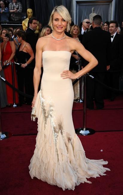 Cameron Diaz lors de la cérémonie des Oscars à Hollywood, le 26 février 2012.