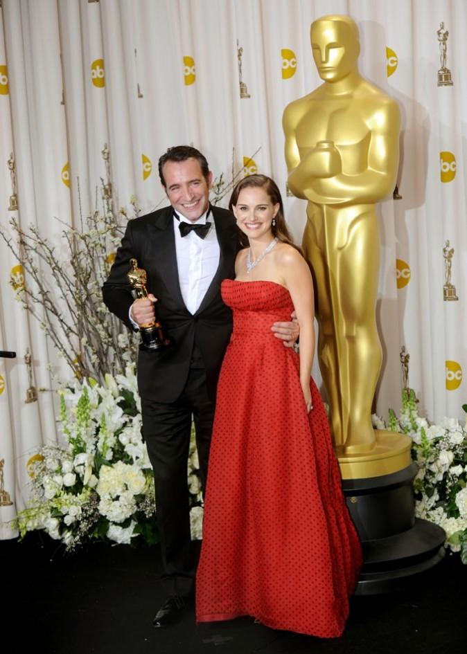 Elle a remis l'Oscar à Jean Dujardin !