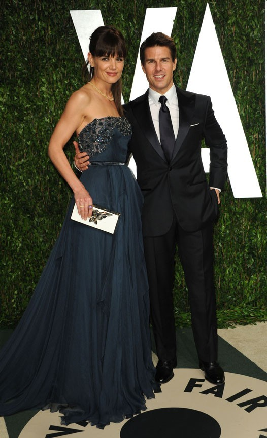 Tom a rejoint Katie Holmes à l'after Vanity Fair !