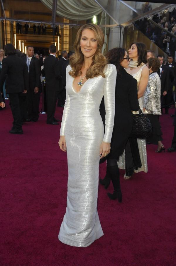 Céline Dion et son gros diamant !