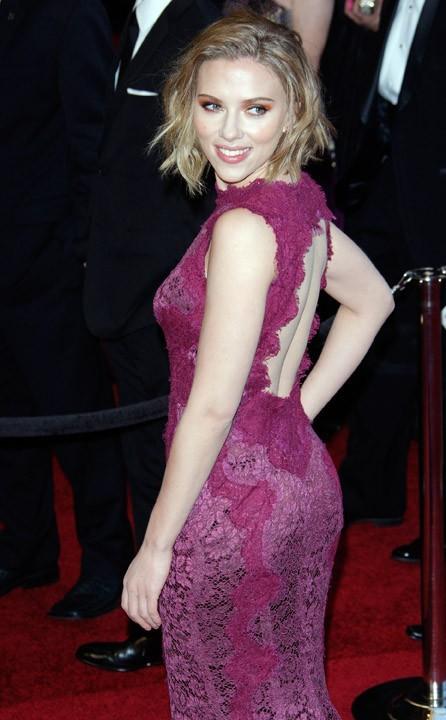 De la dentelle pour Scarlett Johansson