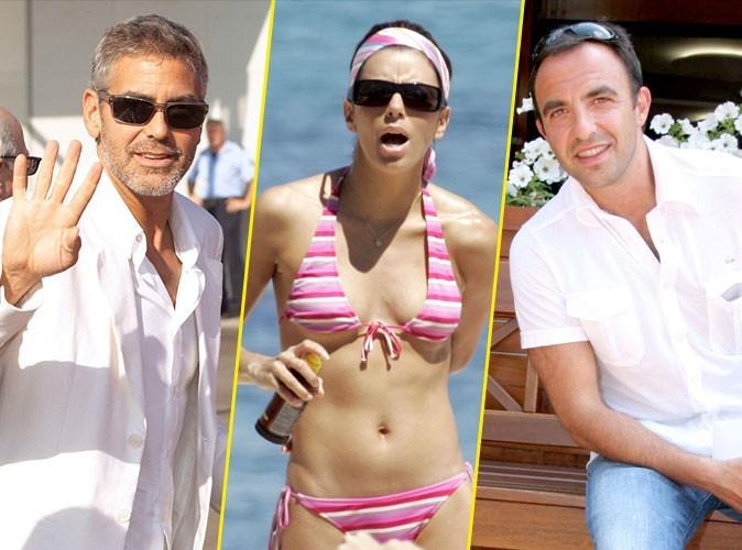 Exclu Public : George Clooney, Eva Longoria, Nikos Aliagas... où croiser les stars en vacances à l'étranger cet été ?