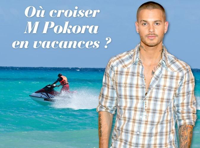 Exclu Public : M Pokora : farniente à la Réunion !