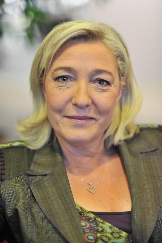 Qui l'aurait cru, Marine Le Pen ose le maquillage !