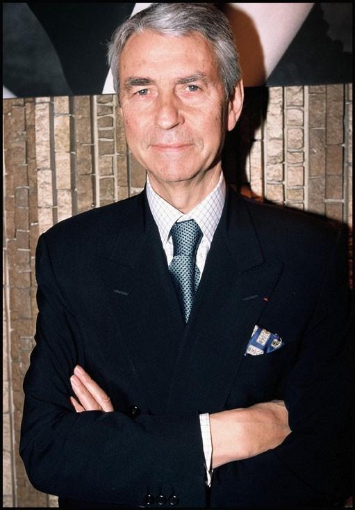 Le présentateur Jean-Claude Narcy