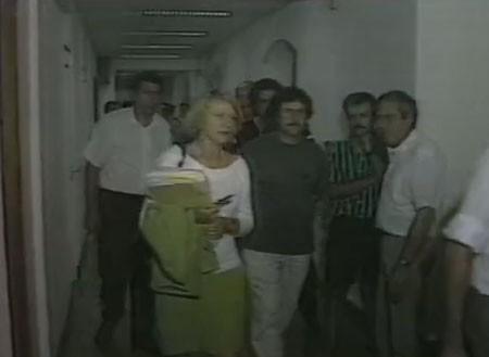 Eva Joly apparaît pour la première fois à la télévision en 1991.