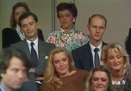 Marine le Pen apparaît à la télévision en 1985.