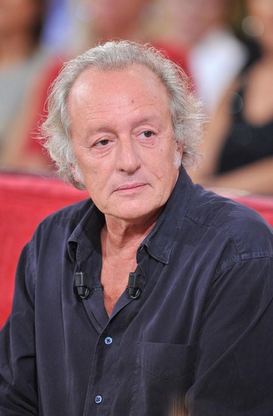 Le chanteur Didier Barbelivien