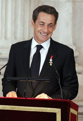 Nicolas Sarkozy l'actuel Président de la République (UMP)
