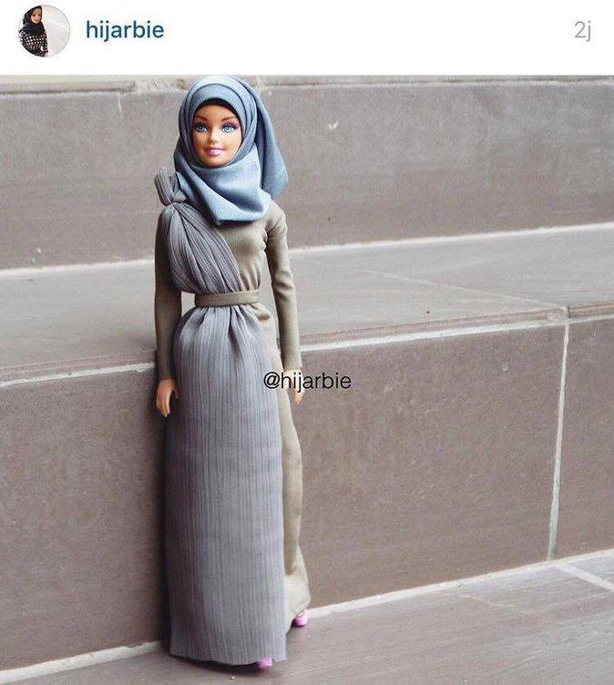 Public Buzz : Photos : La barbie Hijab fait réagir la Toile !