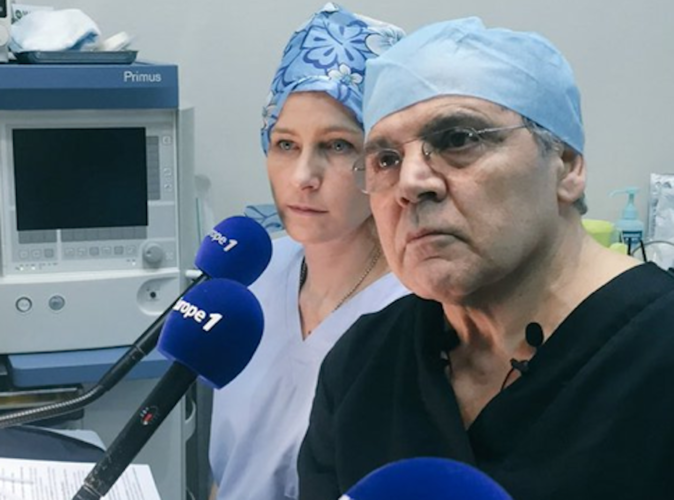 Public Buzz : Photos : Une opération de chirurgie en direct sur Europe 1 !