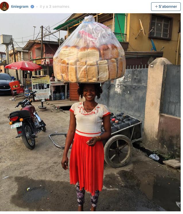 Public Buzz : Photos : Vendeuse dans la rue, elle s'incruste à un shooting photo et devient mannequin !
