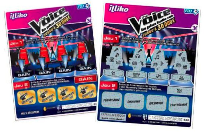 Public Buzz : Photos : Quand The Voice devient un jeu de grattage !