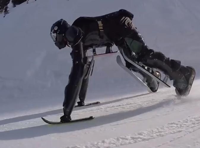 Public Buzz : Vidéo : Faire du ski à quatre pattes… c'est possible !