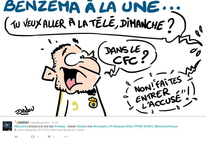 """Public Buzz : Photos : """"Benzema a avoué"""" le nouveau jeu qui amuse Twitter ! a"""