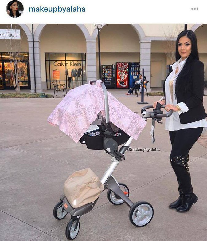 Public Buzz : Photos : Elle fait un contouring pendant son accouchement et choque le web !
