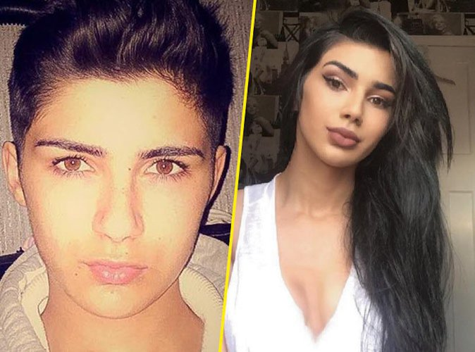 Public Buzz : Photos : Un adolescent de 15 ans transgenre se transforme en Kim Kardashian !