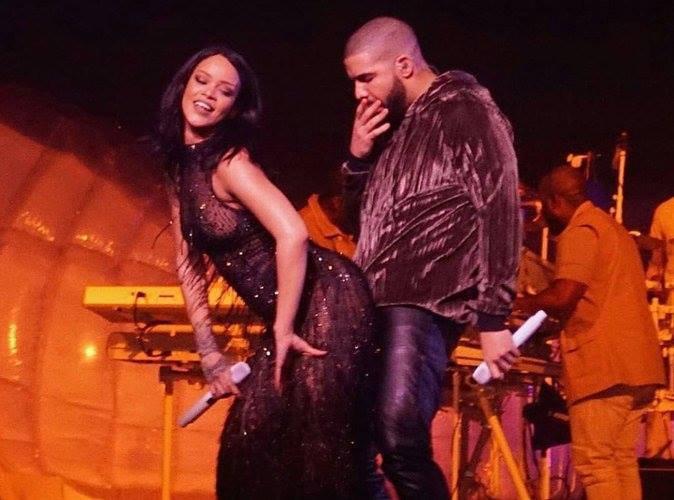 3- C'est chaud entre Rihanna et Drake