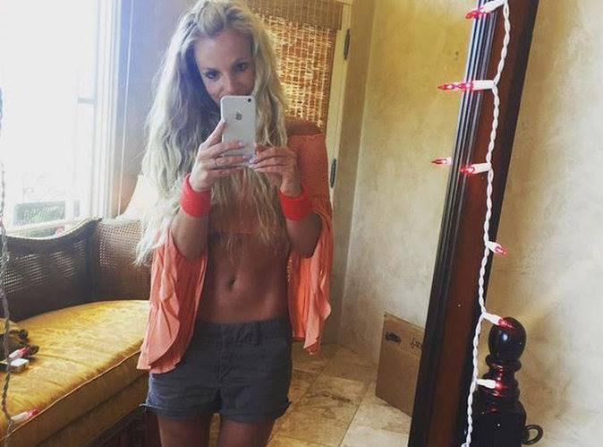 4-    Britney Spears affiche son nouveau corps