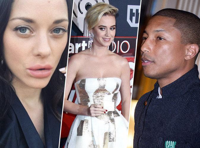 #TopNewsPublic : Marion Cotillard défigurée, Katy Perry explique son changement de look, Pharrell Williams honoré