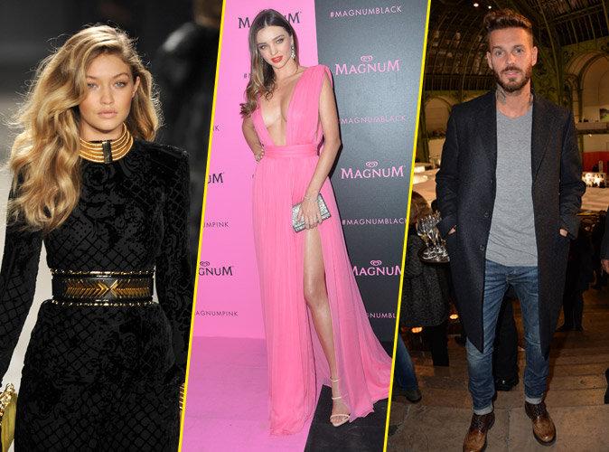 Photos : Public Glam Awards 2015 : Gigi Hadid, Miranda Kerr, M. Pokora… Tous les gagnants !