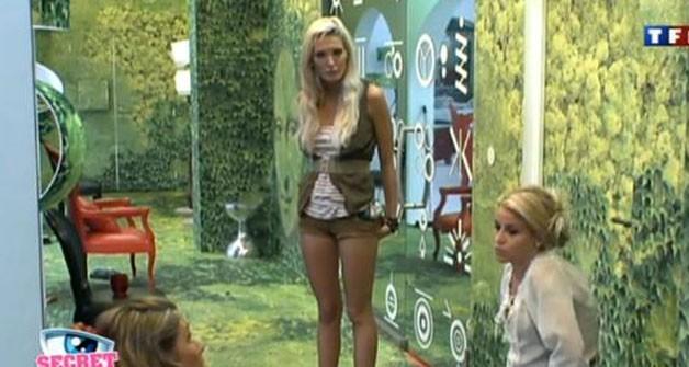Aurélie n'est pas contente que Rudy soit nominé !