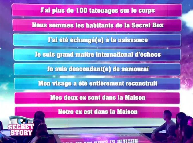 Secret Story 6 : découvrez la liste des secrets !