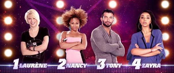 Les nominés de la semaine sont : Laurène, Nancy, Tony et Zayra!