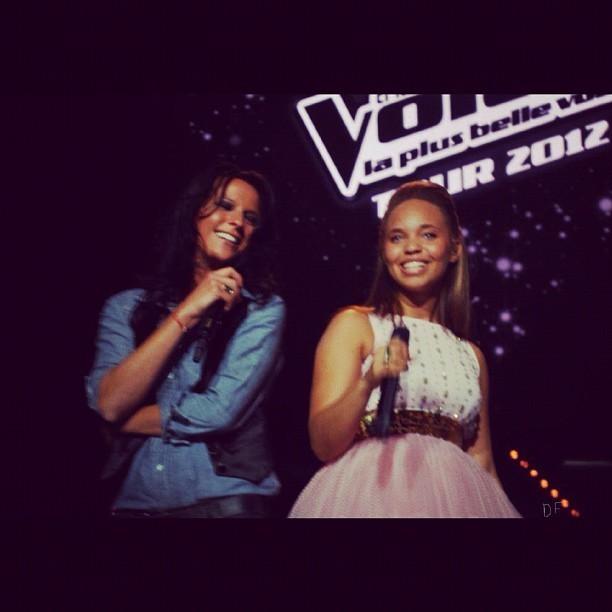 Les coulisses de la tournée The Voice