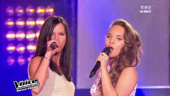 Aude Henneville et Rubby chantent en duo